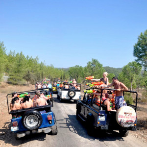 What about having a Jeep Safari adventure in Cappadocia