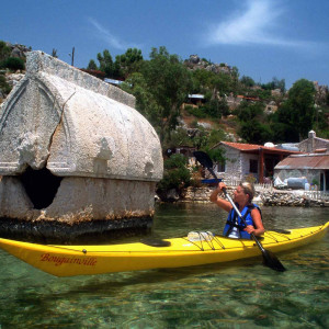 You would never say NO for sea kayaking activity in Kas