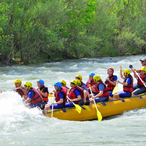 Rafting Adventure at Firtina River, Black Sea